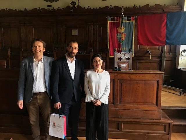 """Visita in Umbria del Responsabile della componente """"Rafforzamento socio economico – mercato del lavoro"""" di UNDP Siria"""