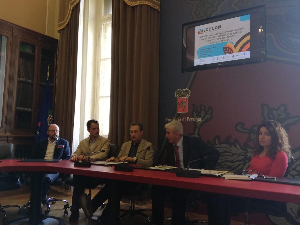 """Presentato oggi in conferenza stampa il Progetto """"ECO.COM"""""""