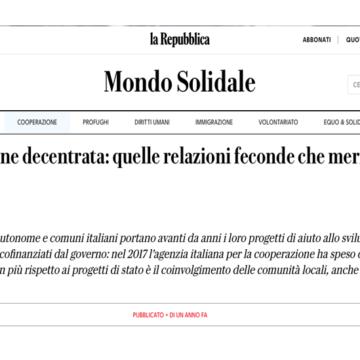 Repubblica.it parla di noi