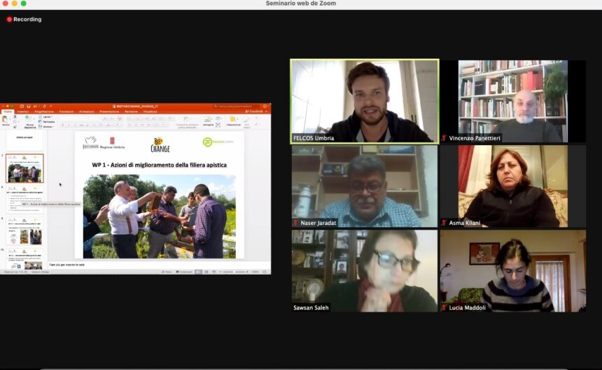 Realizzati tre eventi di visibilità online del progetto Bee The Change