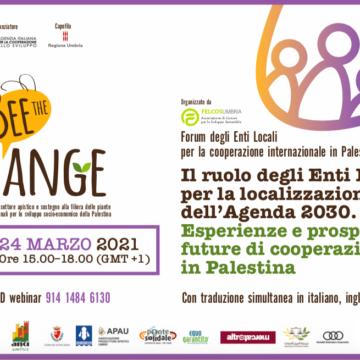 È in arrivo il Forum degli Enti Locali per la cooperazione internazionale in Palestina!