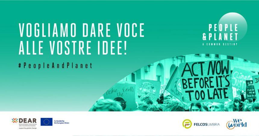 Ripartiamo insieme contro il cambiamento climatico_le nuove attività di FELCOS Umbria di educazione allo sviluppo sostenibile
